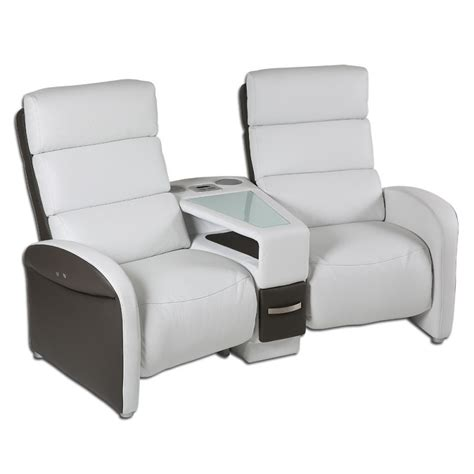 canape cinema canapé 2 places tablettes cruiser
