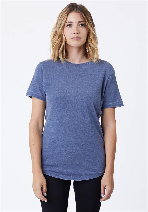 Women's Burnout T-Shirt | Cotton-Heritage