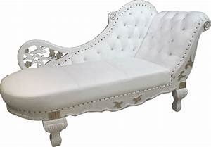 Barock Sofa Weiß : barock chaiselongue wei gold echt leder chaise lonque recamiere aus dem hause casa ~ Frokenaadalensverden.com Haus und Dekorationen