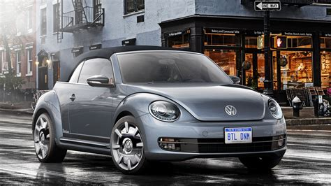 volkswagen beetle convertible denim concept pictures