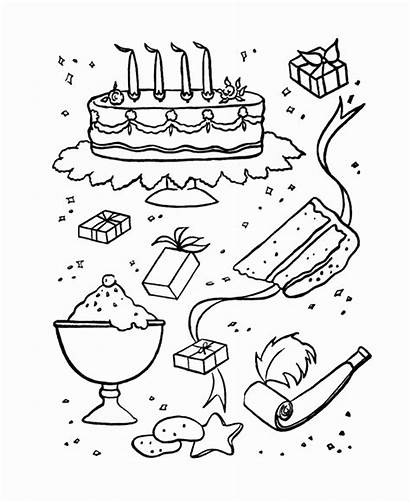 Candy Sweets Coloring Pages