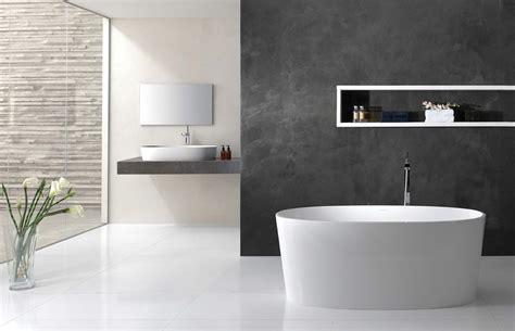 contemporary bathroom ideas grey wooden vanity storage brown plastic swing door white