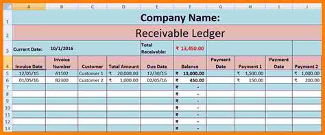 sales  purchase ledger excel template ledger review