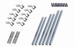 Kit Panneau Solaire Autoconsommation : fixation de type toiture tuile pour 4 panneaux photovolta ques ~ Premium-room.com Idées de Décoration