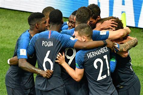 VidÉos  Finale Coupe Du Monde 2018  Les Buts De