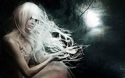 Rain Gothic Fantasy Dark Night Wallpapers Ghost