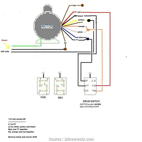220 Ac Wiring Color Code by Electric Motor Wiring Color Code Impremedia Net