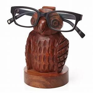 Owl Eyeglass Holder - The Green Head