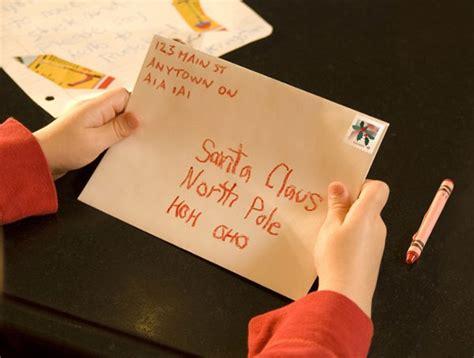 canada posts address  santa claus receives  million