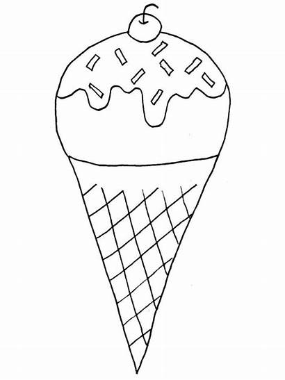 Coloring Pages Ice Cream Summer