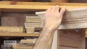 Woodworking DIY Project - Installing Crown Molding on a
