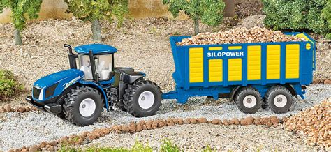 traktor mit anhänger traktor mit anh 228 nger siku farmer