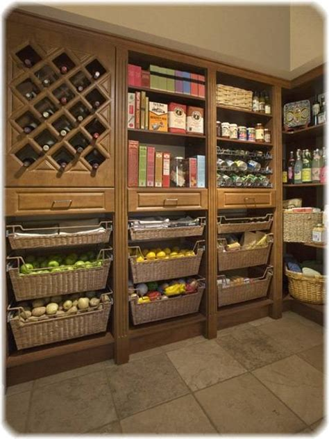 open kitchen pantry shelving  interior design