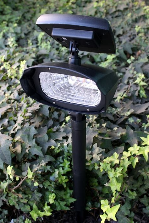 ultra bright solar spot light 4 leds
