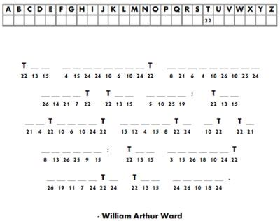 printable cryptogram puzzles  adults  printable