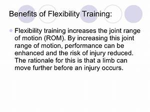 Flexibility PDHPE