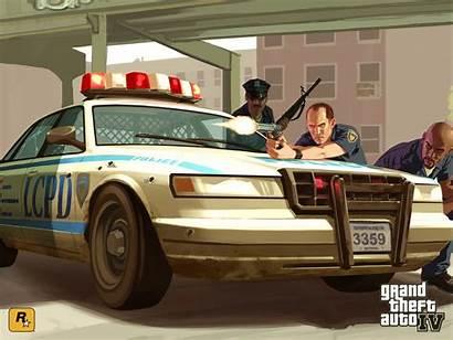 Gta Sa Wallpapers Theft Grand Police Iv