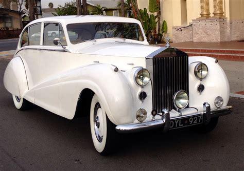 1951 Rollsroyce Wraith  San Diego Wedding Transportation