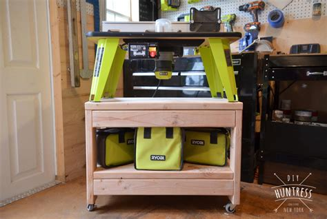 rolling benchtop tool stand buildsomethingcom