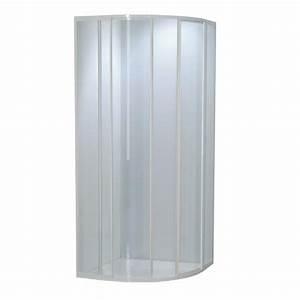 porte de douche 1 4 de cercle verre 3mm plomberiefr With porte douche 1 4 cercle