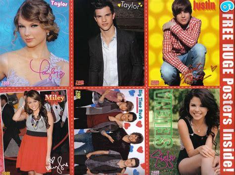 Taylor Swift, Taylor Lautner, Justin Bieber, Miley Cyrus ...