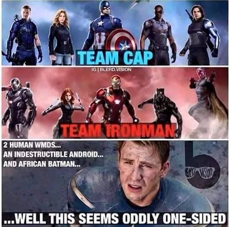 Team Black Guys Meme - iron man irons and cap d agde on pinterest