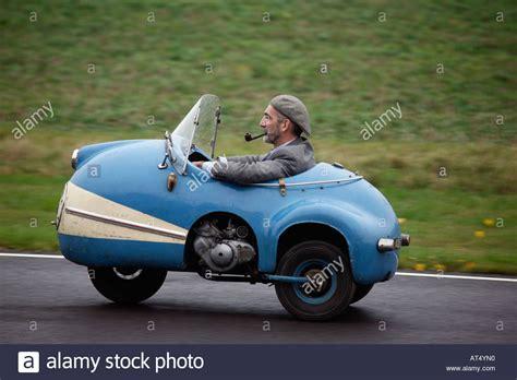 Small Three Wheel Micro Car, 1958 Brütsch Mopetta At The