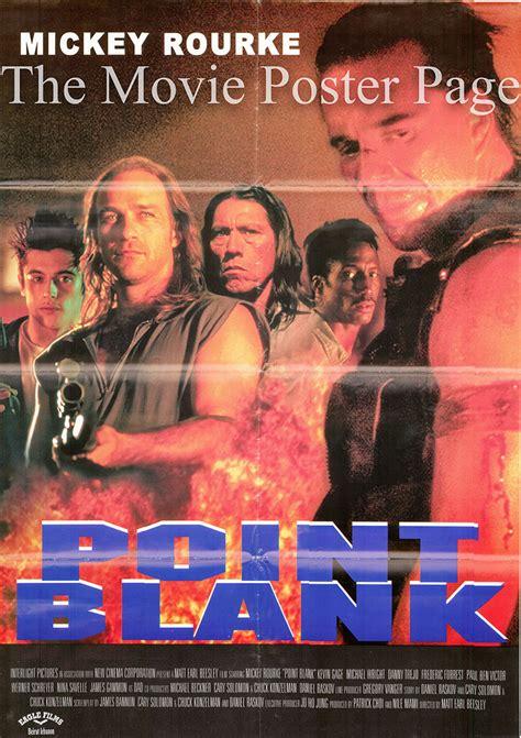 point blank  mickey rourke lebanese film poster