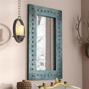 Large Vanity Mirror With Lights Lajoie Rustic Accent Mirror Rustic Wall Mirrors Small