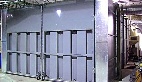 chambre de sablage ventilation industrielle de procédés drh