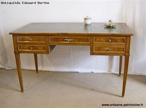 bureau de style bureau plat de style louis xvi artisans du patrimoine