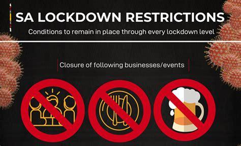 INFOGRAPHIC | SA COVID-19 lockdown restrictions | SA Life