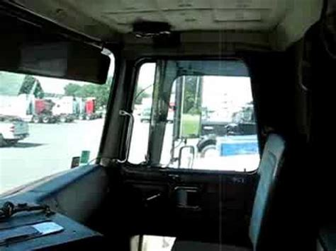 volvo cabover interior  model youtube