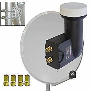 Ausrichtung Sat Schüssel : premiumx antenne sat sch ssel 80cm alu pxa80 hellgrau f r diesen preis ein sehr gutes produkt ~ Eleganceandgraceweddings.com Haus und Dekorationen