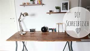 Schreibtisch Selbst Bauen : diy schreibtisch rustikal schreibtisch g nstig selber ~ A.2002-acura-tl-radio.info Haus und Dekorationen