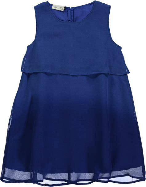 festliches kleid fuer maedchen  blau nitisabella