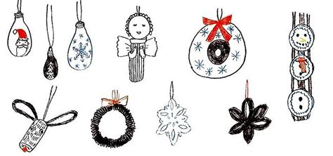 christmas things to make at home 12 diy christmas tree ornaments you can make from things around your home 171 the secret yumiverse