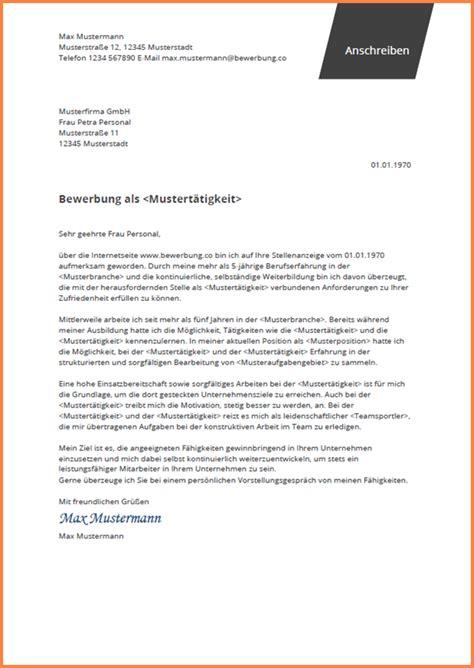 Bewerbungsvorlage Ausbildung by 7 Bewerbungsschreiben Fachweiterbildung Intensivpflege
