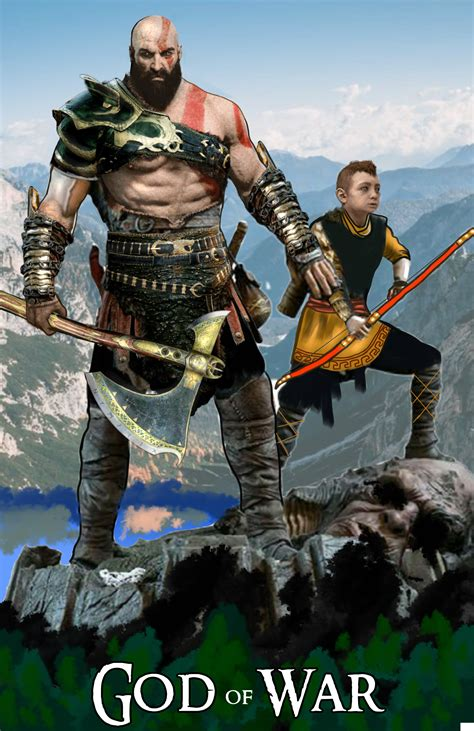 God Of War Kratos And Atreus By Ashim By Drpcsarker On