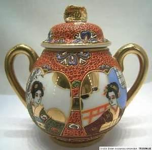 Altes Japanisches Teeservice : japan kutani porzellan on popscreen ~ Michelbontemps.com Haus und Dekorationen