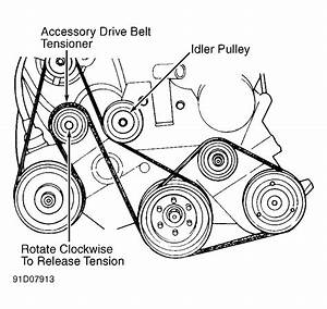 2004 Chrysler Pacifica Serpentine Belt Diagram