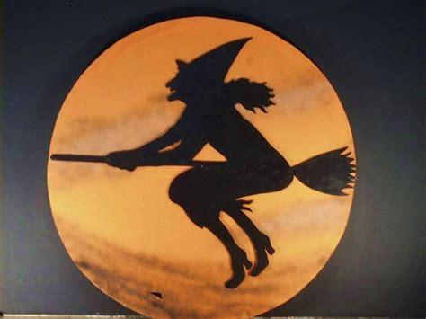 halloween cards halloween witch broom