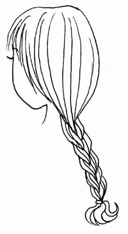 Braid Hair Drawing French Manga Braids Crunchyroll