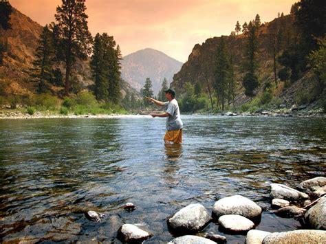 idaho salmon river rocks rockies country scenic byways