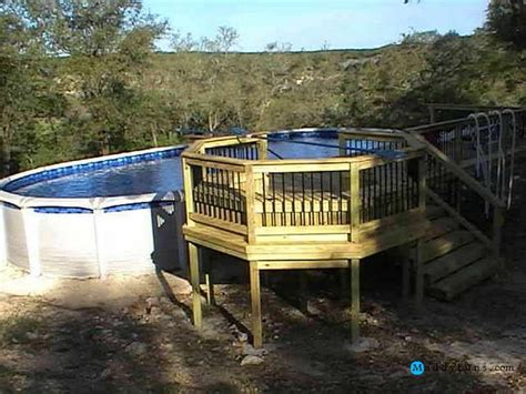 1000 ideas about above ground pool ladders on pinterest