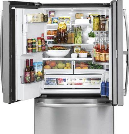 ge profile series pyd  cu ft counter depth french door refrigerator  door  door