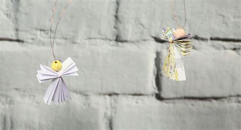 engel aus papier basteln engel basteln in weniger als einer minute 6 geniale ideen