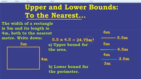 upper bound and lower bound to the nearest youtube