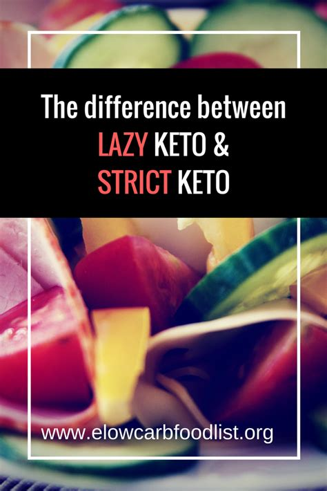 difference  lazy keto  strict keto