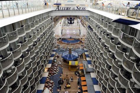 Inside of cruise ship